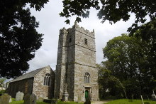 St Teath Virgin Church, Cornwall © Bill Harrison