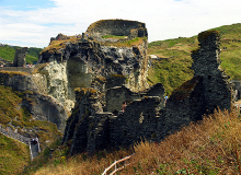 Tintagel Castle Ruins, Cornwall © Pam Brophy